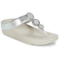 Παπούτσια Γυναίκα Σαγιονάρες FitFlop HALO TOE THONG SANDALS Silver
