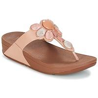 Παπούτσια Γυναίκα Σαγιονάρες FitFlop HONEYBEE JEWELLED TOE Nude