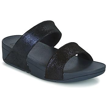 Παπούτσια Γυναίκα Τσόκαρα FitFlop SHIMMY SUEDE SLIDE Μπλέ