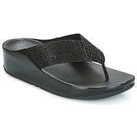 Παπούτσια Γυναίκα Σαγιονάρες FitFlop CRYSTALL Μαυρο