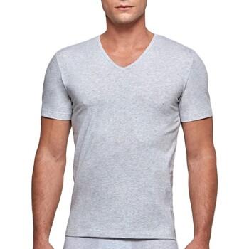 Υφασμάτινα Άνδρας T-shirt με κοντά μανίκια Impetus GO31024 073 Grey