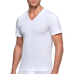 Υφασμάτινα Άνδρας T-shirt με κοντά μανίκια Impetus GO31024 26C Άσπρο
