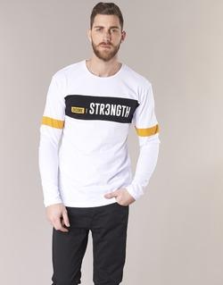 Υφασμάτινα Άνδρας T-shirt με κοντά μανίκια Jack & Jones JCOACE-TEE-LS-CREW-NECK Άσπρο