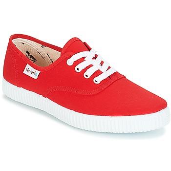Παπούτσια Χαμηλά Sneakers Victoria INGLESA LONA Red