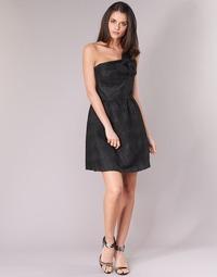 Υφασμάτινα Γυναίκα Κοντά Φορέματα Naf Naf ECLAIR Black