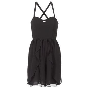 Υφασμάτινα Γυναίκα Κοντά Φορέματα Naf Naf LENY R1 Black