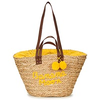 Τσάντες Γυναίκα Cabas / Sac shopping Banana Moon LACELY WOODRAW Naturel / Yellow