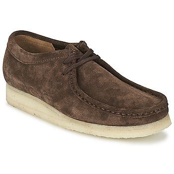 Παπούτσια Άνδρας Derby Clarks WALLABEE Καφέ