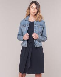 Υφασμάτινα Γυναίκα Τζιν Μπουφάν/Jacket  Vero Moda VMHOT SOYA Μπλέ /  clair