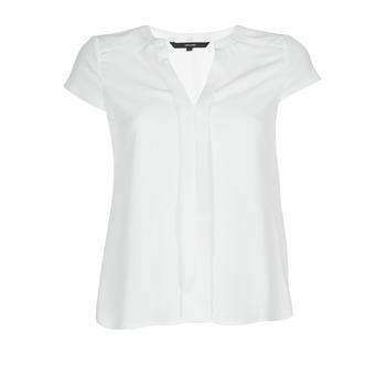 Υφασμάτινα Γυναίκα Μπλούζες Vero Moda VMTONI Άσπρο