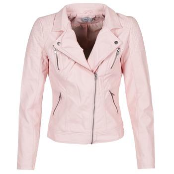Υφασμάτινα Γυναίκα Δερμάτινο μπουφάν Only STEADY Ροζ