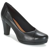 Παπούτσια Γυναίκα Γόβες Clarks CHORUS CAROL Μαυρο / Leather