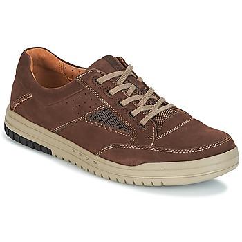 Παπούτσια Άνδρας Χαμηλά Sneakers Clarks UNRHOMBUS GO Dark / Καφέ / Nub