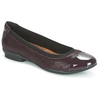 Παπούτσια Γυναίκα Μπαλαρίνες Clarks NEENAH GARDEN Aubergine