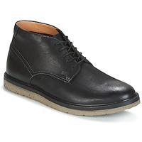 Παπούτσια Άνδρας Μπότες Clarks BONNINGTON TOP Μαυρο / Leather