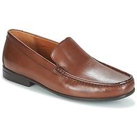 Παπούτσια Άνδρας Μοκασσίνια Clarks CLAUDE PLAIN Καφέ / Leather
