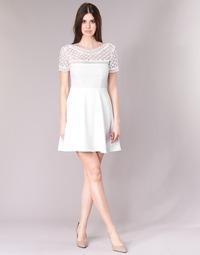Υφασμάτινα Γυναίκα Κοντά Φορέματα Betty London INLOVE Άσπρο