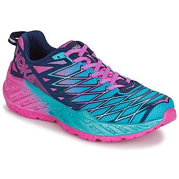 Παπούτσια Γυναίκα Τρέξιμο Hoka one one W CLAYTON 2 Μπλέ / Ροζ
