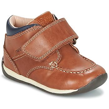 Xαμηλά Sneakers Geox B EACH BOY ΣΤΕΛΕΧΟΣ: Δέρμα και συνθετικό & ΕΠΕΝΔΥΣΗ: & ΕΣ. ΣΟΛΑ: & ΕΞ. ΣΟΛΑ: Καουτσούκ
