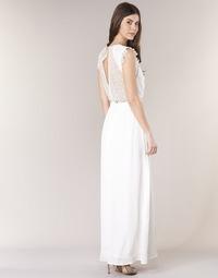 Υφασμάτινα Γυναίκα Μακριά Φορέματα Betty London ILOVEYOU Άσπρο