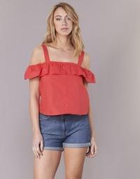 Υφασμάτινα Γυναίκα Μπλούζες Moony Mood IFARANDOL Red