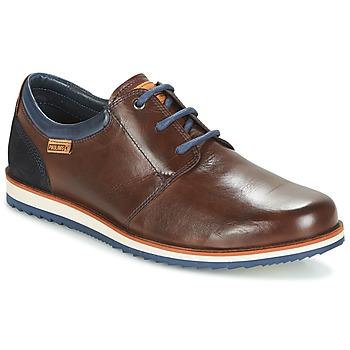 Παπούτσια Άνδρας Derby Pikolinos BIARRITZ M5A Brown / Μπλέ