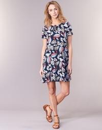 Υφασμάτινα Γυναίκα Κοντά Φορέματα Casual Attitude IYURTOLAL Μπλέ