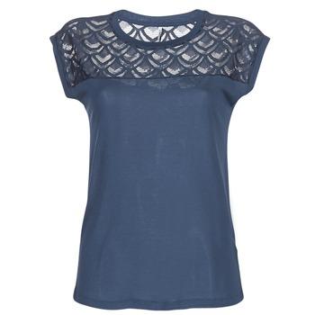 Υφασμάτινα Γυναίκα T-shirt με κοντά μανίκια Only NICOLE Marine