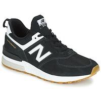 Παπούτσια Άνδρας Χαμηλά Sneakers New Balance MS574 Black