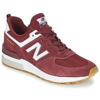 Παπούτσια Άνδρας Χαμηλά Sneakers New Balance MS574 Bordeaux