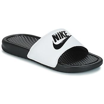 Παπούτσια Άνδρας σαγιονάρες Nike BENASSI JUST DO IT Άσπρο / Black