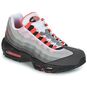 Παπούτσια Άνδρας Χαμηλά Sneakers Nike AIR MAX 95 OG Άσπρο / Red