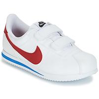 Παπούτσια Αγόρι Χαμηλά Sneakers Nike CORTEZ BASIC PRE-SCHOOL Άσπρο / Μπλέ / Red