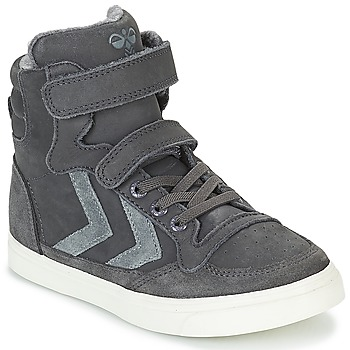 Παπούτσια Παιδί Ψηλά Sneakers Hummel STADIL OILED HIGH JR Grey