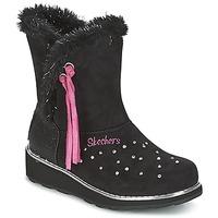 Παπούτσια Κορίτσι Snow boots Skechers SPARKLES Black / Ροζ