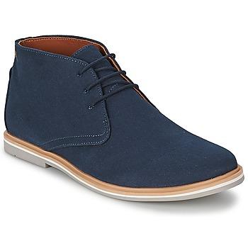 Παπούτσια Άνδρας Μπότες Frank Wright BARROW Navy / Canvas