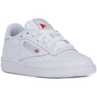 Παπούτσια Άνδρας Χαμηλά Sneakers Reebok Sport CLUB C 85 Bianco
