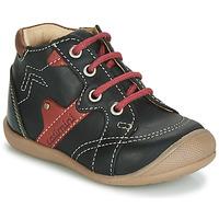 Παπούτσια Αγόρι Ψηλά Sneakers Catimini GASTON Black / Red