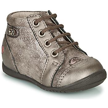 Παπούτσια Κορίτσι Ψηλά Sneakers GBB NICOLE Taupe