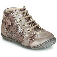 Παπούτσια Κορίτσι Ψηλά Sneakers GBB NICOLE Ροζ / Χρυσο