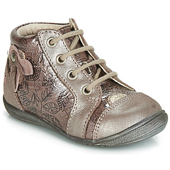 Παπούτσια Κορίτσι Ψηλά Sneakers GBB NICOLE Vtv / Ξύλο  /  de / ΡΟΖ + ΣΤΑΜΠΑ / Dpf / Kezia