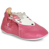 Παπούτσια Κορίτσι Σοσονάκια μωρού Catimini HERISSETTE Vte / Vx / Ροζ / Dpf / Souple