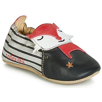 Παπούτσια Αγόρι Παντόφλες Catimini RENARDOU Black / Grey / Red