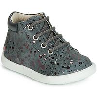 Παπούτσια Κορίτσι Ψηλά Sneakers GBB NICKY Grey / Ροζ