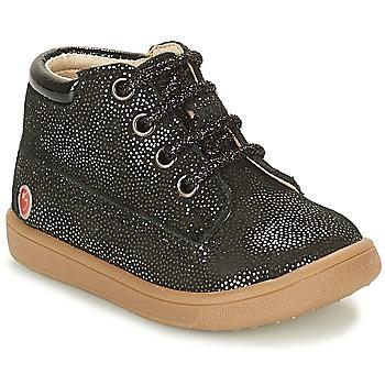 Παπούτσια Κορίτσι Ψηλά Sneakers GBB NINON Black / Pailleté