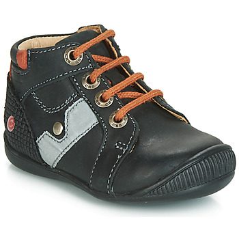 Παπούτσια Αγόρι Ψηλά Sneakers GBB REGIS Black / Orange