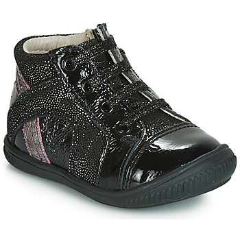 Παπούτσια Κορίτσι Χαμηλά Sneakers GBB ROSETTA Black / Silver