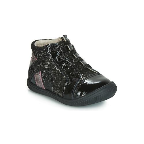 807803793525 Παπούτσια Κορίτσι Ψηλά Sneakers GBB ROSETTA Black / Silver