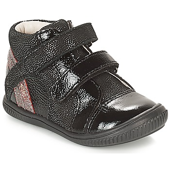 Παπούτσια Κορίτσι Ψηλά Sneakers GBB ROXANE Black / Argenté