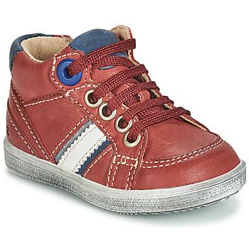 Παπούτσια Αγόρι Ψηλά Sneakers GBB ANGELITO Bordeaux